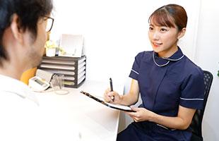 専門の医師による治療診断